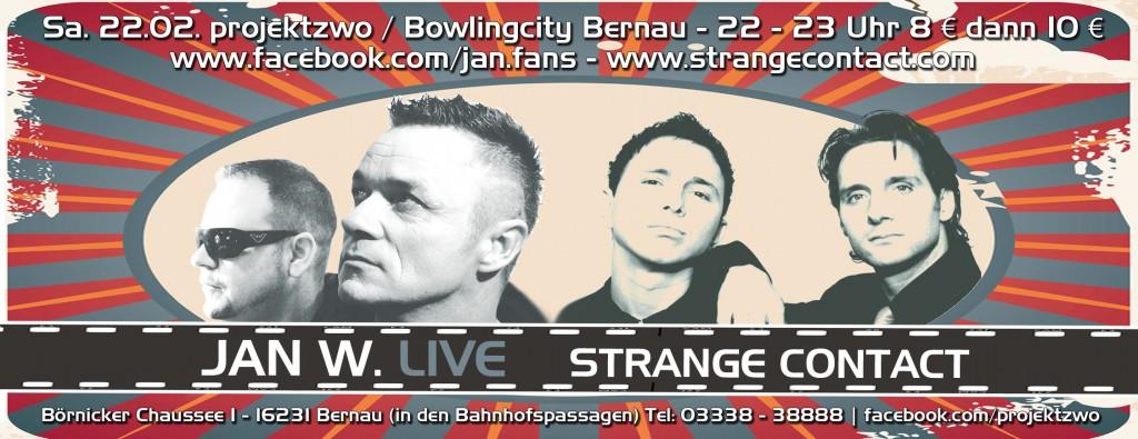 Jan W. Live in Bernau 2014